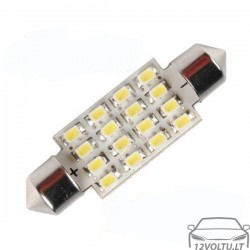 Balta LED lemputė 42mm